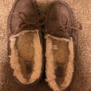 UGG Brown moccasin slippers